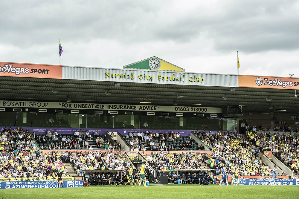 Oh for 'Fortress Carrow Road' to become a thing again. Our Kathy B has a radical solution…