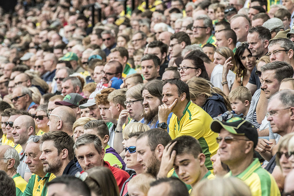 All too easy to forget, but our common ground is a love of Norwich City and a heart-felt desire for  succeed