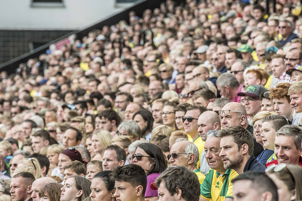 The challenge of creating Fortress Carrow Road – and the pros and cons of social media