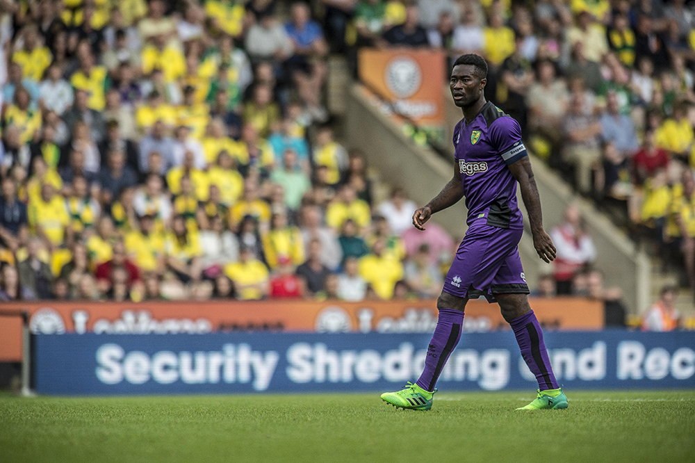 Who says Tettey can't pass? Easy to underestimate the value of one of the few Hughton/Neil 'remainers'