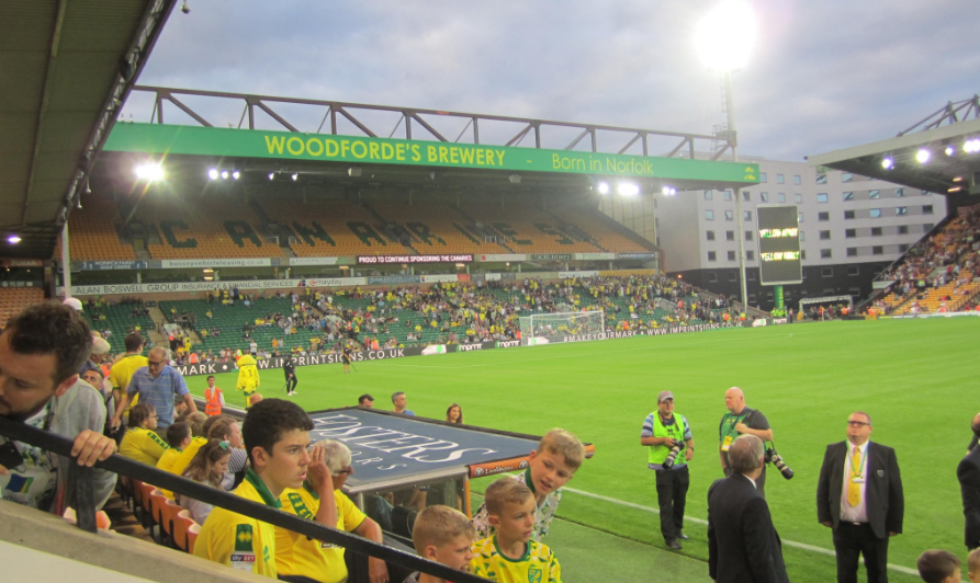 Barclay singing section an unequivocal success that should lay foundations for a more boisterous Carrow Road