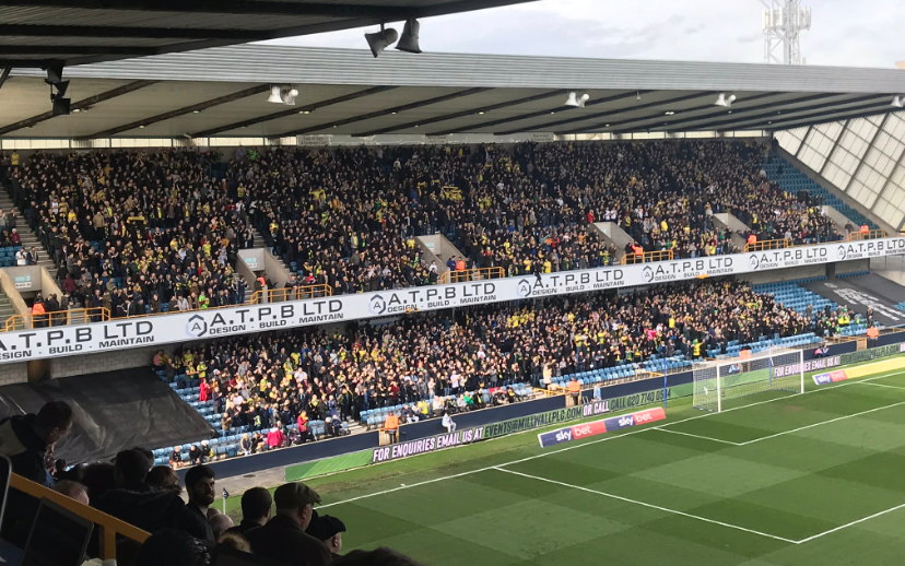 City overcome a raucous din at The Den to maintain that crucial two-point gap