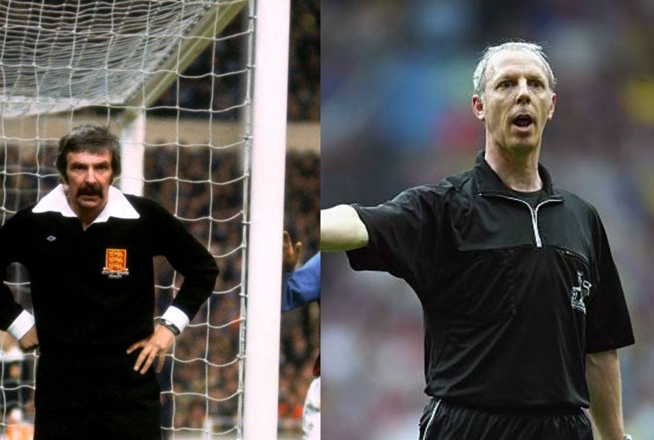 A tale of two refs… both played a part in our history… and both friends of our 'Wardy'
