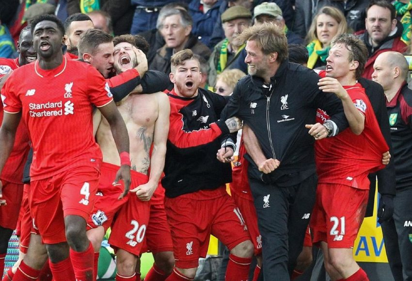 ONE FROM THE ARCHIVES: The last time the mighty Liverpool rocked up at the Carra