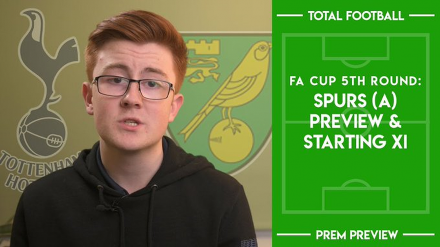 VIDEO – FA Cup: Tottenham v Norwich – Preferred XI and Match Preview