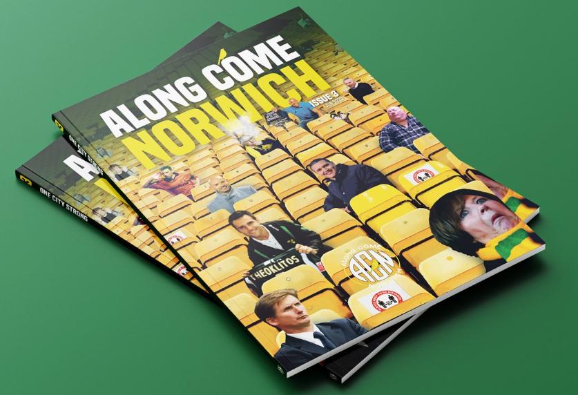 Along Come Norwich – Zine #3 – Flecky… Daniel Gray… Goreham & loads more