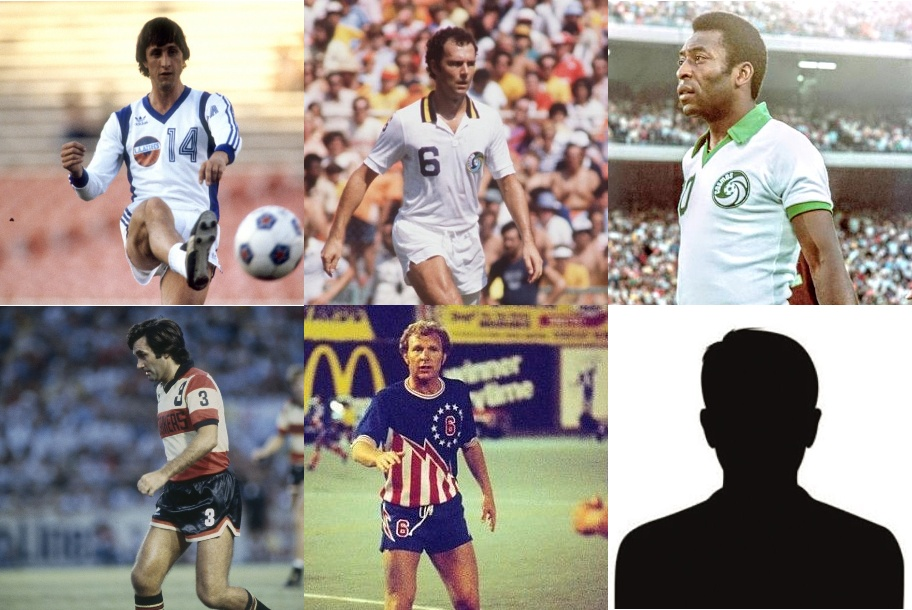 The NASL … a City legend … Pelé … Cruyff … Beckenbauer … and Peter 'Columbo' Falk