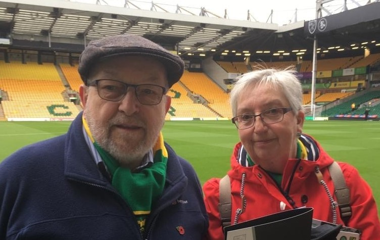 Dad, Norwich City and Me