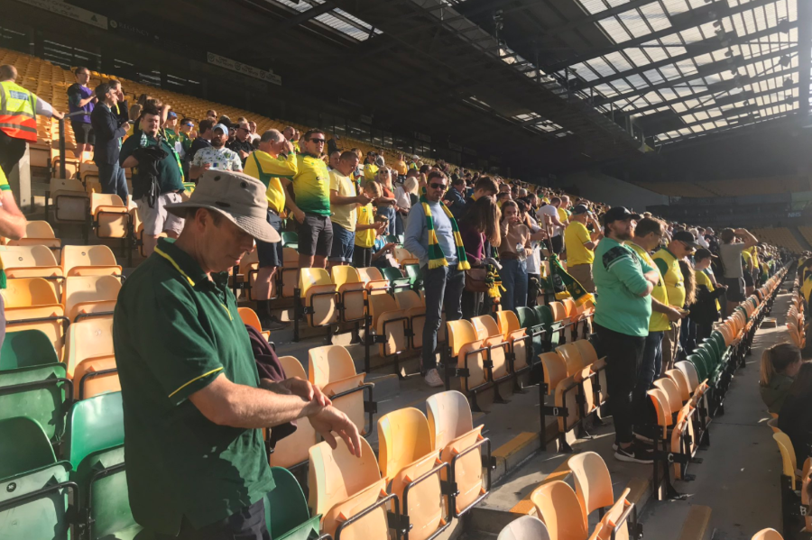 What it felt like to be one of the lucky thousand in a socially distant Carrow Road