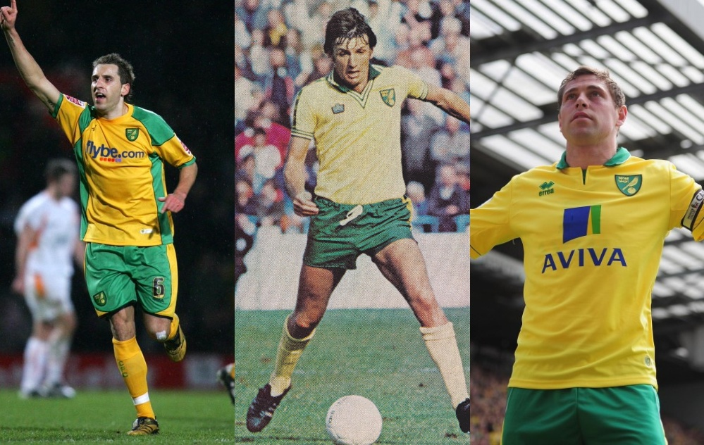 Norwich City's greatest ever … by the fans … on Twitter