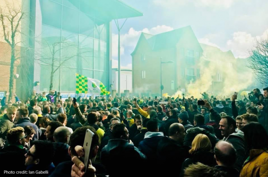 Missing Carrow Road? Longing for that next pilgrimage to our spiritual home?
