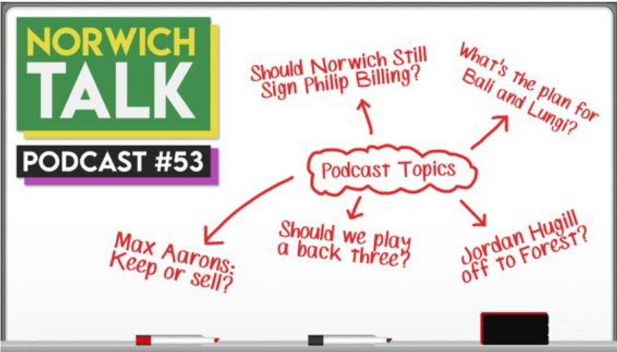 VIDEO: 'NEW CONTRACTS, RUMOURS & A BACK THREE?' Podcast #53 | Norwich Talk