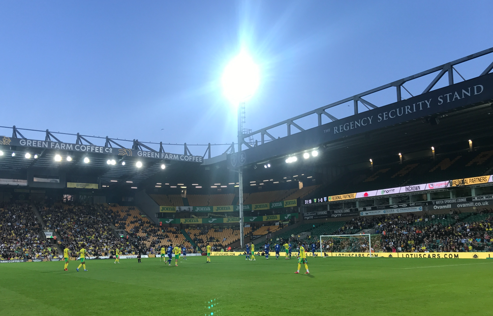 Photo diary: The evening when a degree of normality returned for the Canary faithful
