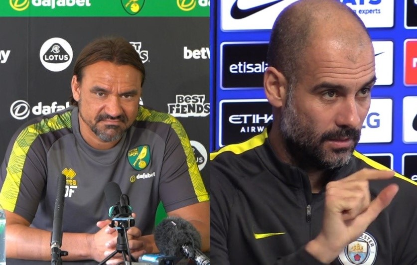 Mutual admiration, but all about three points for Farke and Guardiola tomorrow