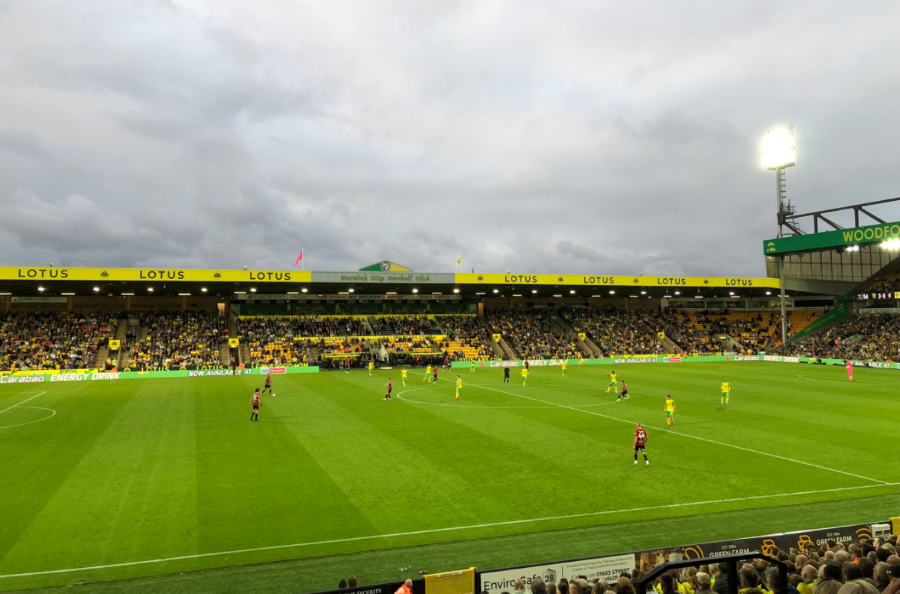 The good mood returns to Carrow Road as it soaks up the mother of all City debuts